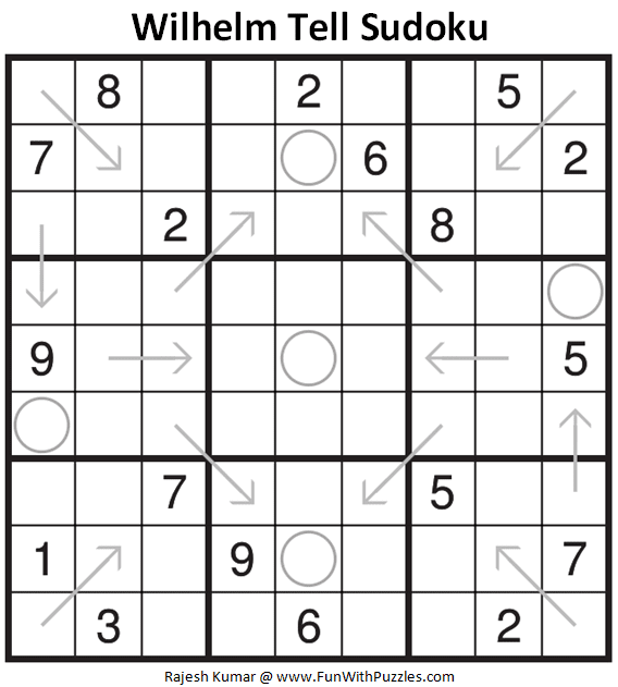 Wilhelm Tell Sudoku Puzzle (Fun With Sudoku #327)