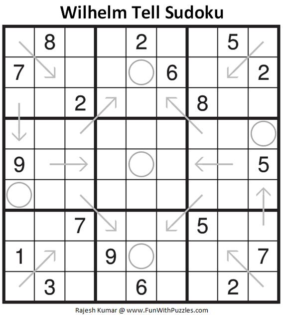 Wilhelm Tell Sudoku Puzzle (Fun With Sudoku #327)