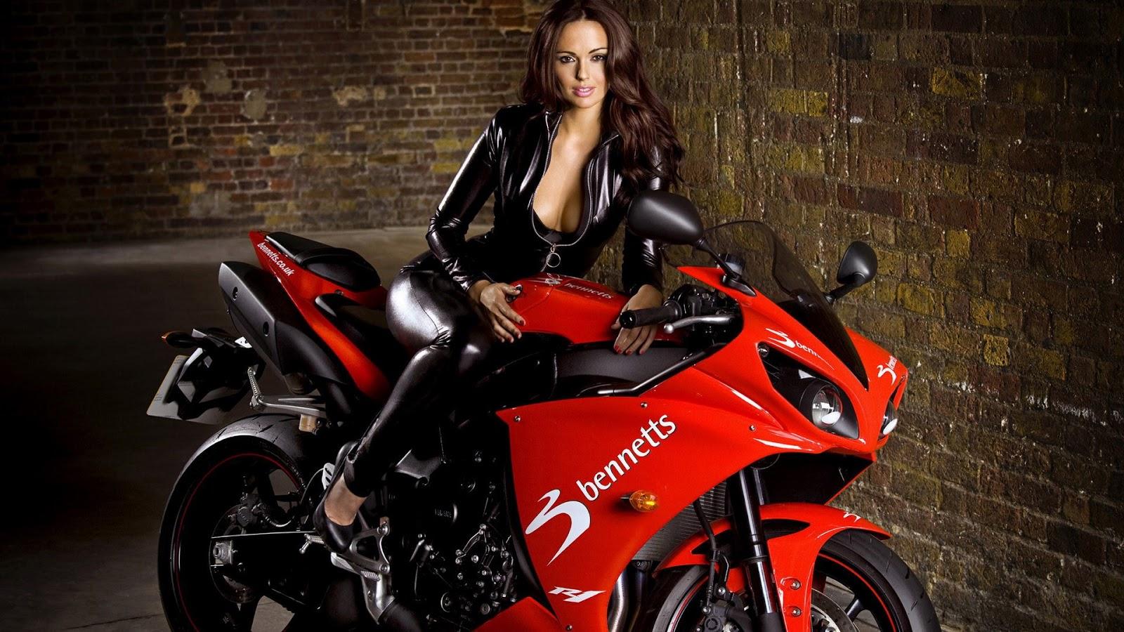 sexy girls bikes wallpapers - photo #2