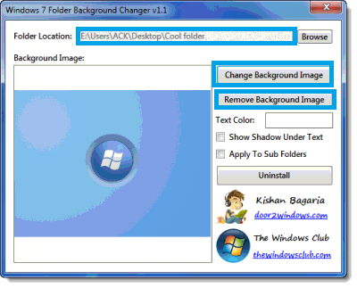Cara Mudah Memberi Background pada Windows Explorer Windows 7