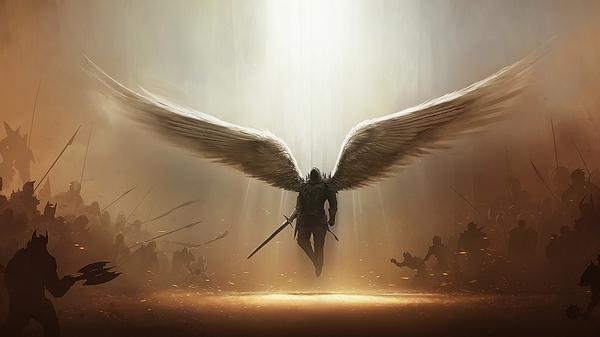 angel warrior sword wings - photo #6