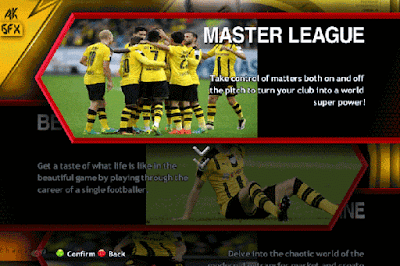 PES 2013 BORUSIA DORTMUND MENU GRAPHIC AND VIDEO BACKGROUND SEASON 2016/2017