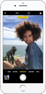 Come scattare una foto in modalità Ritratto su iPhone 8 Plus