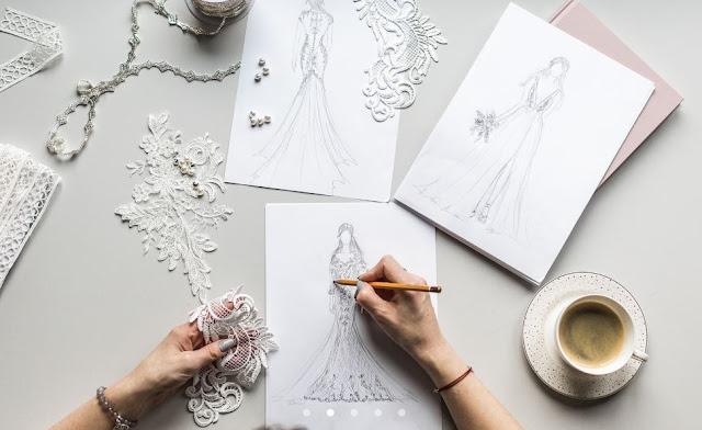 Projekty sukien ślubnych od Suknie SABE.