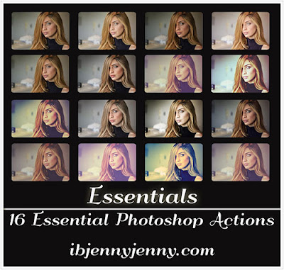 FREE ESSENTIALS PHOTOSHOP ACTIONS