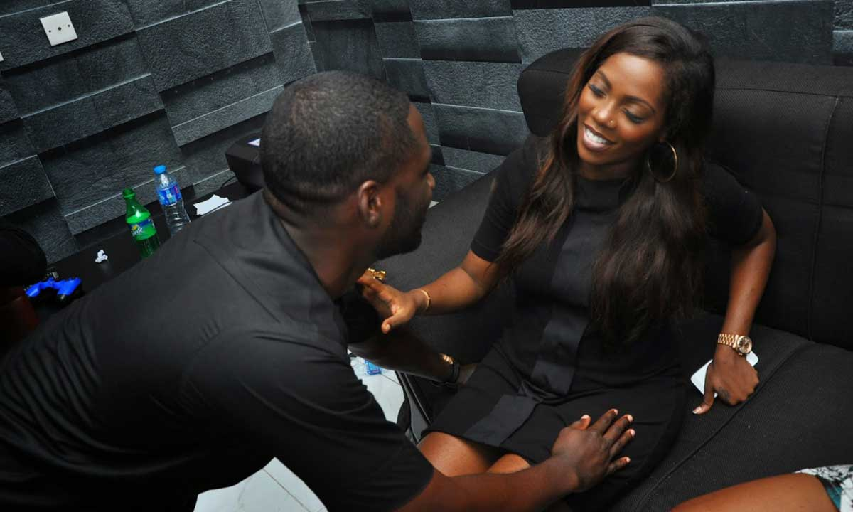 "The Nigerian entertainment industry is doing well and many have begun giving respect to those that deserves it and singer, Tiwa Savage, just did not during her performance at the 3thrones music concert in Lagos.  The singer got many talking when she paused her music and invited singing couple Tunde and Wunmi Obe on stage and while appreciating them, seeked to know how they have been able to stay strong in their marriage for 20 years and still counting.  The couple who never expected such question had no choice but to point out that aside love, tolerance, patience, what they people needed to know is that the third party that has a say in the marriage should always be God.  According to Tunde, ""what people need to know is that the only third party that should get involved in your marriage is God.""  With such a question from Tiwa, many have drawn up the conclusion that she and her hubby, are planning to unite together."