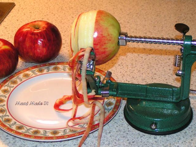 Apfelschäler - Apple Peeler
