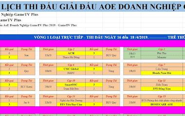 [AoE] Vòng thi đấu đầu tiên, Trụ Vương 360 trở thành bá chủ tại AoE Doanh Nghiệp GTV Plus