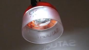 GravityLight SatLight lamps