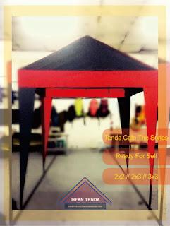 Penjual Tenda Di Bandung menawarkan Tenda Cafe dengan Harga yang Murah, Tenda Cafe Tersedia dalam Ukuran 2M x 2M // 2M x 3M // 3M x 3M.