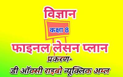 Hindi Tech Area · Post  B.Ed का फाइनल लेसन प्लान कैसे बनाएं, final lesson plan for B.Ed