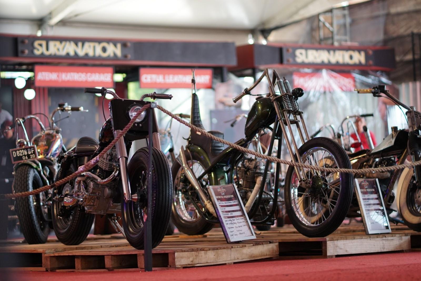 Kota Denpasar Jadi Saksi Pertarungan Sengit Para Builder Custom Bike Contest
