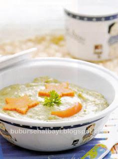 Senangnya Merawat Bayi Tumbuh Sehat Cara Membuat Aneka Resep Bubur Beras Daging Cincang  Bubur Beras Daging Cincang