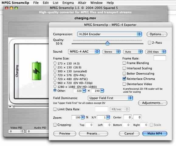 برنامج MPEG Streamclip لتحويل وتعديل الفيديو
