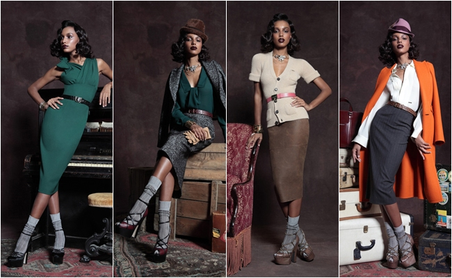 pre-fall 2013 chic looks Dsquared2