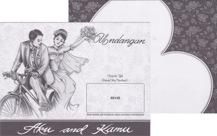 Undangan Pernikahan Termurah ErBa - 88145 | Tabloid Laptop