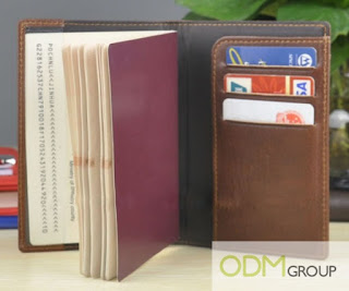 Corporate Gift Idea - Leather Passport Holder Set