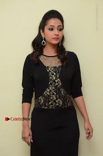 Telugu Actress Manasa Manohar Stills in Black Long Dress at Naku Nene Thopu Turumu Trailer Launch  0043.JPG