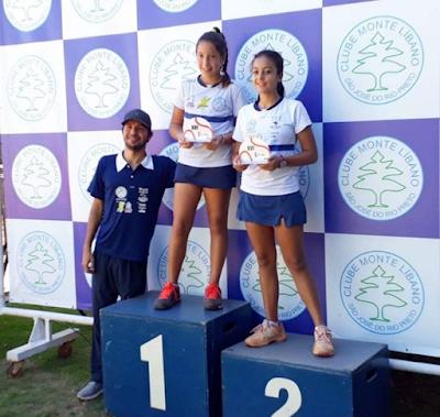 Tenista de Cajobi conquista título na etapa paulista em Rio Preto