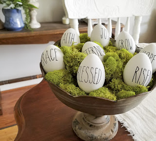 Rae Dunn inspired Easter (Resurrection) Eggs