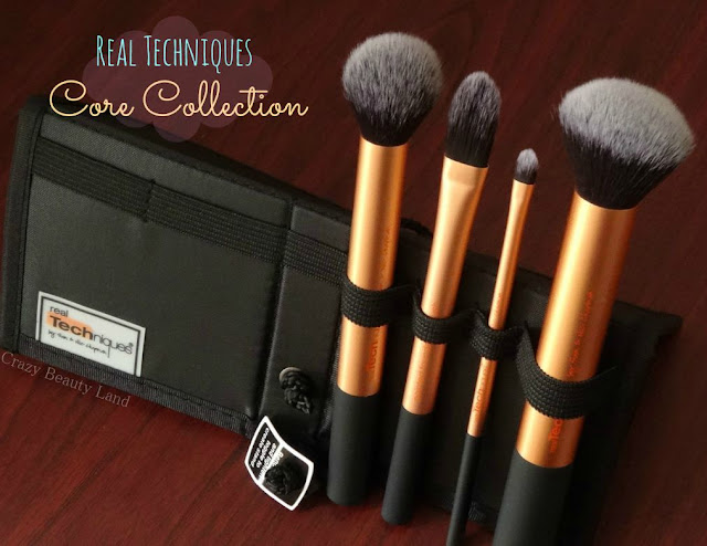 Makeup Tools Review : Real Techniques by Sam & Nic Chapman Core Collection Set Review Where To Buy in India