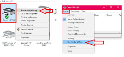 How to Fix Printer Offline Issues In Windows PC (Windows 10/8.1/7),Fix Printer Offline Error for all printers in windows pc,offline printer problem,offline printe even its on,error offline printer,printing problem,printer offline issue,how to fix,how to solve,color printer offline error,black & white printer offline issue,Printer Spooler,printer stop,not printing,all printer issues,printer turn off,canon,hp,espon,samsung,print queue,offline error in printer Fix Printer Offline Error for all printers in windows pc  Click here for more detail..