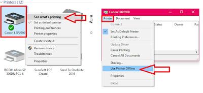 How to Fix Printer Offline Issues In Windows PC (Windows 10/8.1/7),Fix Printer Offline Error for all printers in windows pc,offline printer problem,offline printe even its on,error offline printer,printing problem,printer offline issue,how to fix,how to solve,color printer offline error,black & white printer offline issue,Printer Spooler,printer stop,not printing,all printer issues,printer turn off,canon,hp,espon,samsung,print queue,offline error in printer Fix Printer Offline Error for all printers in windows pc  Click here for more detail..