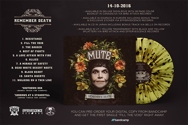 """MUTE reveal tracklist for """"Remember Death"""", release making-of"""