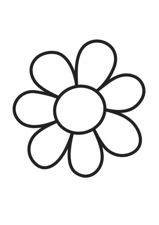 small flower coloring pages - photo#8