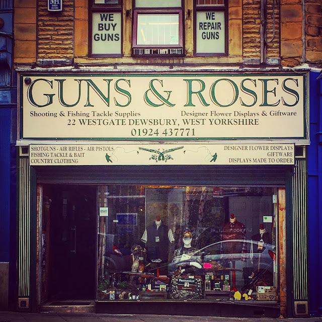 Guns and Roses Dewsbury
