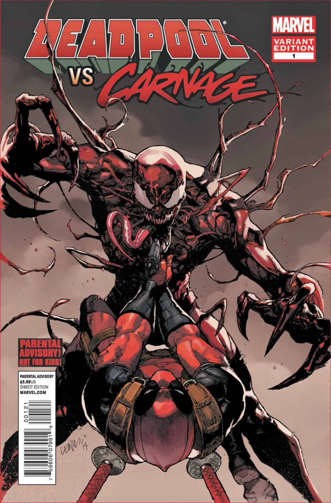 Derf's Domain: In Case You Missed It: Deadpool vs Carnage