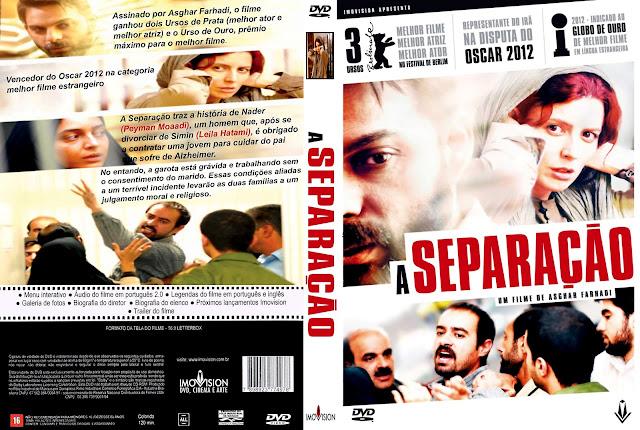 Capa DVD A Separação