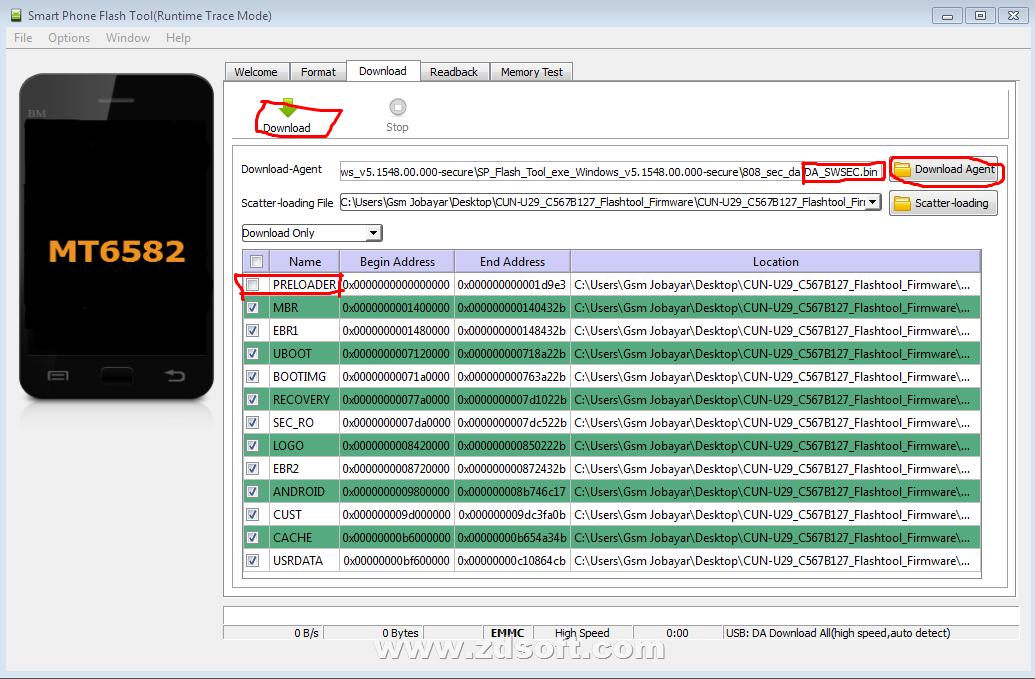 SOHEL TELECOM: huawei cun-u29 dead boot repair firmware flash file