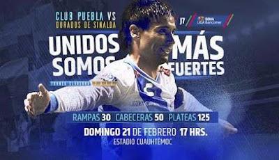 Puebla vs Dorados