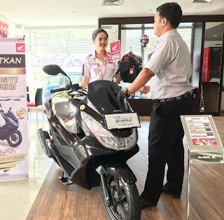 Lima Motor Honda Terlaris Di Sumsel