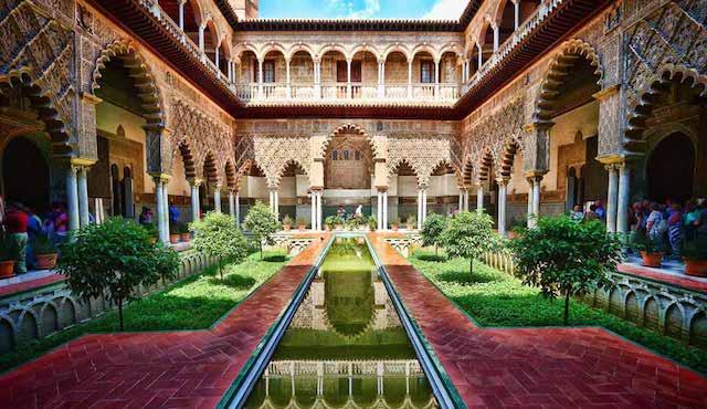 Real Alcázar em Sevilha