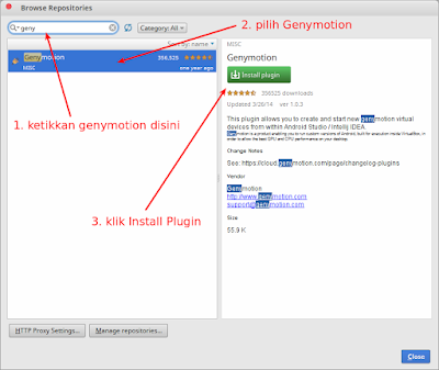 Cara integrasi genymotion android studio cara menambahkan virtualbox genymotion. Cara konfigurasi Genymotion android wear dan menambahkan genymotion android sdk. Install genymotion android studio plugin dan genymotion android l, temukan genymotion android emulator system requirements dan download juga genymotion android emulator free download virtualbox genymotion google play genymotion vs bluestacks genymotion eclipse plugin bluestacks jar of beans youwave android emulator genymotion android studio