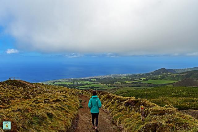 Serra Devassa en Sao Miguel, Azores