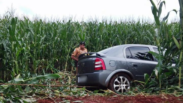 PM de Nova Cantu recupera veículo que foi furtado em Roncador