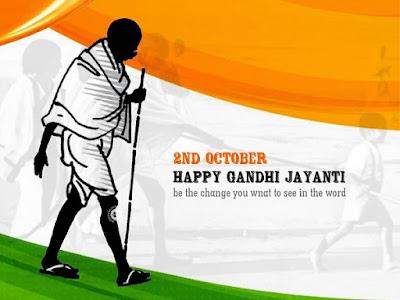 Mahatma Gandhi Jayanti Cover