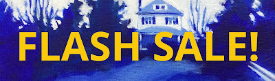 Flash sale banner for Barb Mowery's Etsy shop
