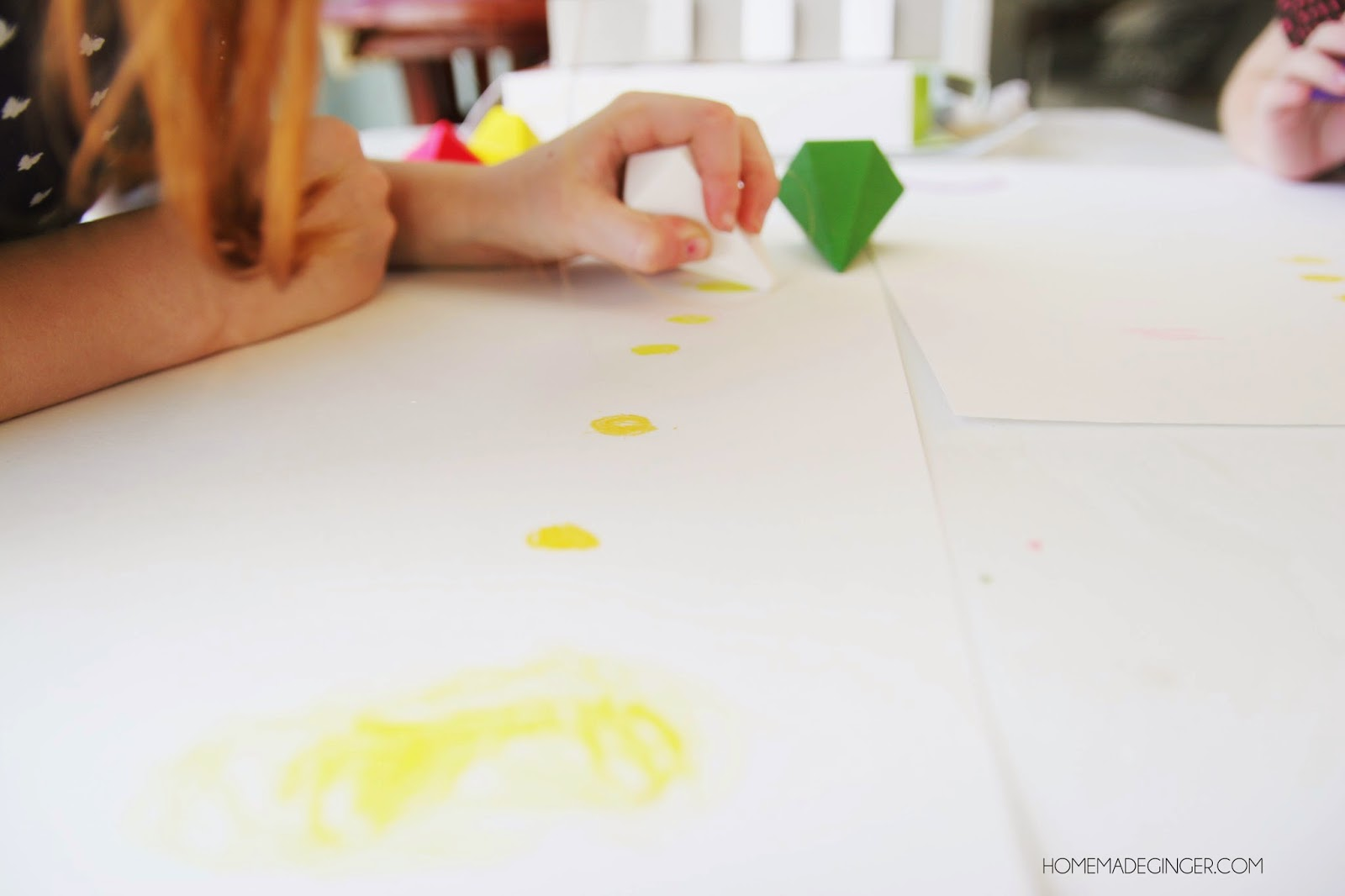 Van Gogh inspired paintings for preschoolers