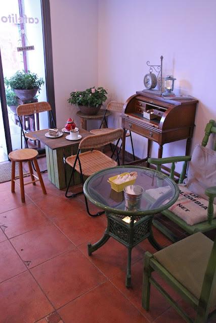 Cafelito, Lavapies - Entrada
