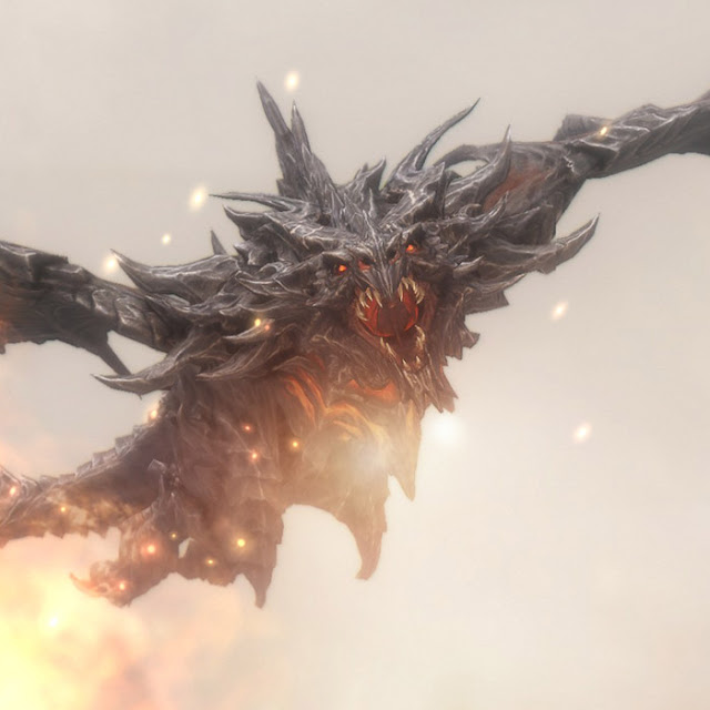 Skyrim Dragon Wallpaper Engine