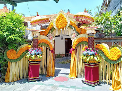 dekorasi pernikahan bali terbaru