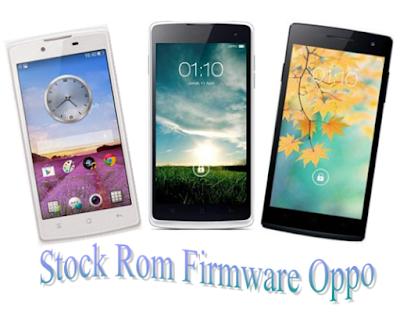 Kumpulan Firmware/Stock Rom Oppo Indonesia Terbaru