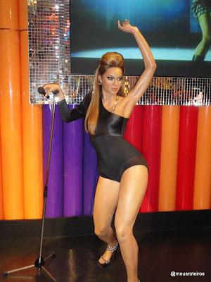 Beyonce de cera - Museu Madame Tussauds, Londres