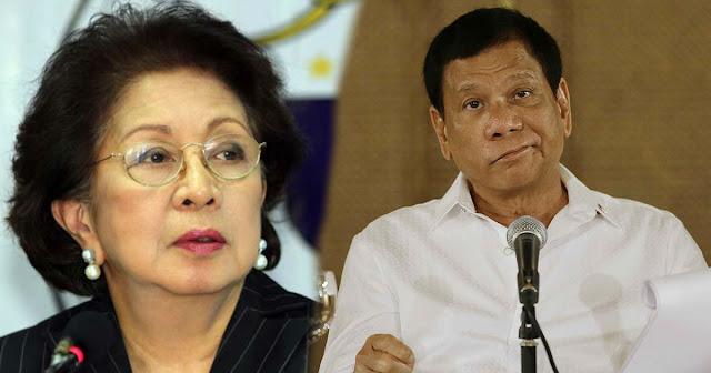 Morales to Duterte | Sagutin mo ang mga Paratang sayo ng tama na naaayon sa  batas!