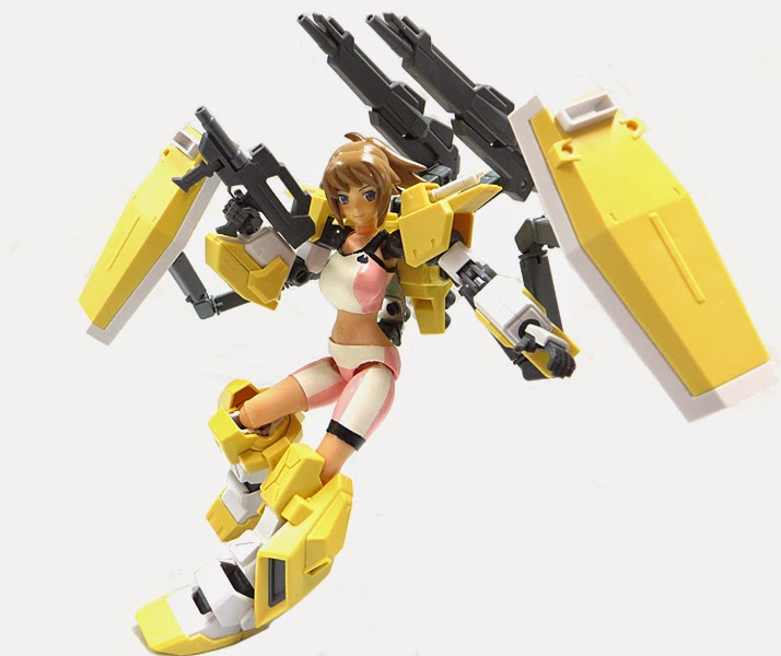Custom Build: Fumina Hoshino action figure (Home Made Gundam Build Fighter)