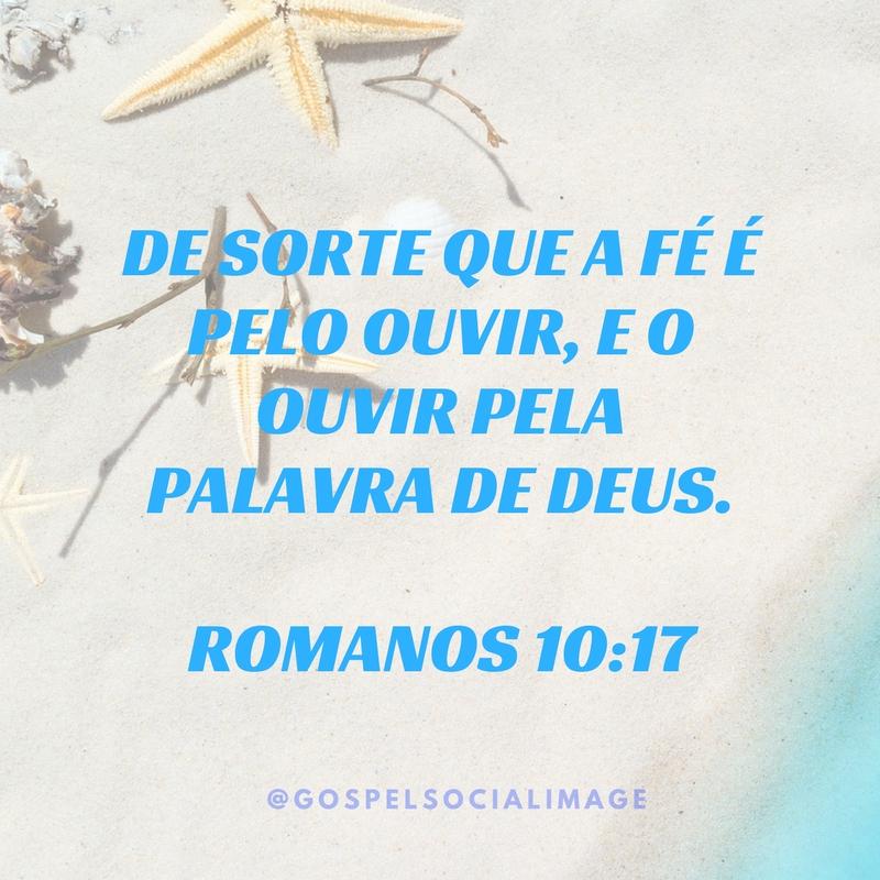 Imagem a Fé que Vem de Deus